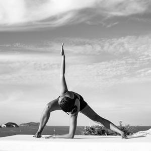 Kindra - teacher of Boracay Yoga