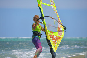 Yoga and windsurfing at Funboard Center Boracay