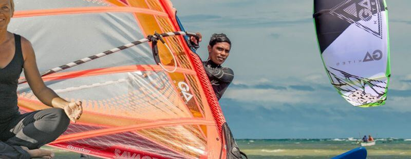 Yoga class for all kite & windsurfers will make your time on the water more enjoyable
